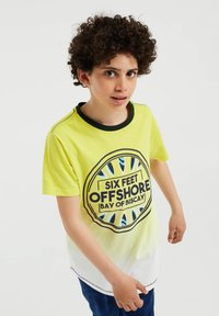WE Fashion - Print T-shirt - yellow - 1
