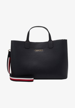 ICONIC SATCHEL - Handtas - blue
