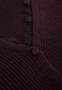 ORSAY - Cardigan - burgunder - 4