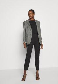 J.CREW - GEORGIE PANT - Spodnie materiałowe - black - 1
