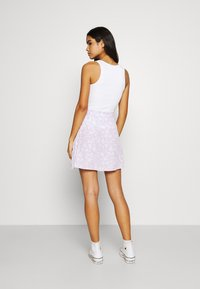 Cotton On - DREW WRAP SKIRT - A-line skirt - lena ditsy powder lilac - 2