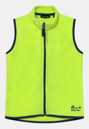 KIDS BOYS  - Waistcoat - neon yellow