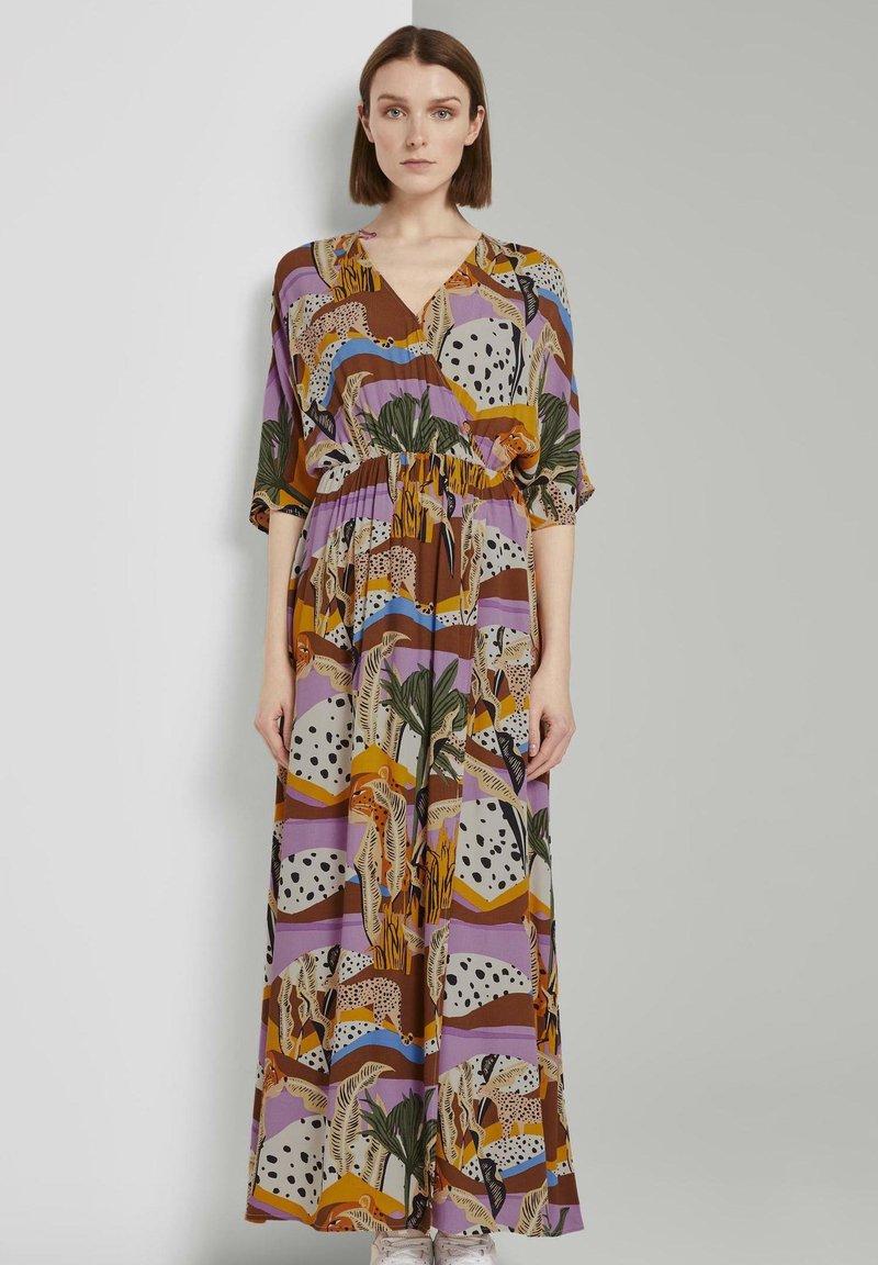 TOM TAILOR DENIM - Maxi dress - multi-coloured