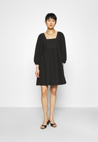 JUST FEMALE - TODA DRESS - Cocktail dress / Party dress - black - 0