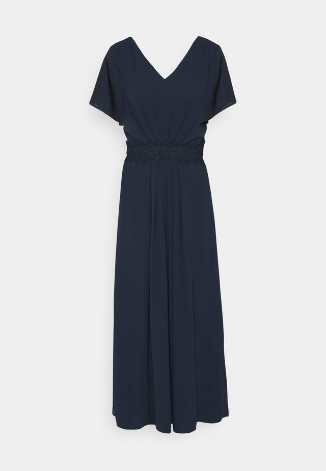 VIMICADA PLEAT ANKLE DRESS - Galajurk - navy