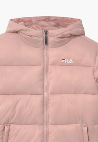 Fila - BROOKLYN PUFFER UNISEX - Winter jacket - sepia rose - 2