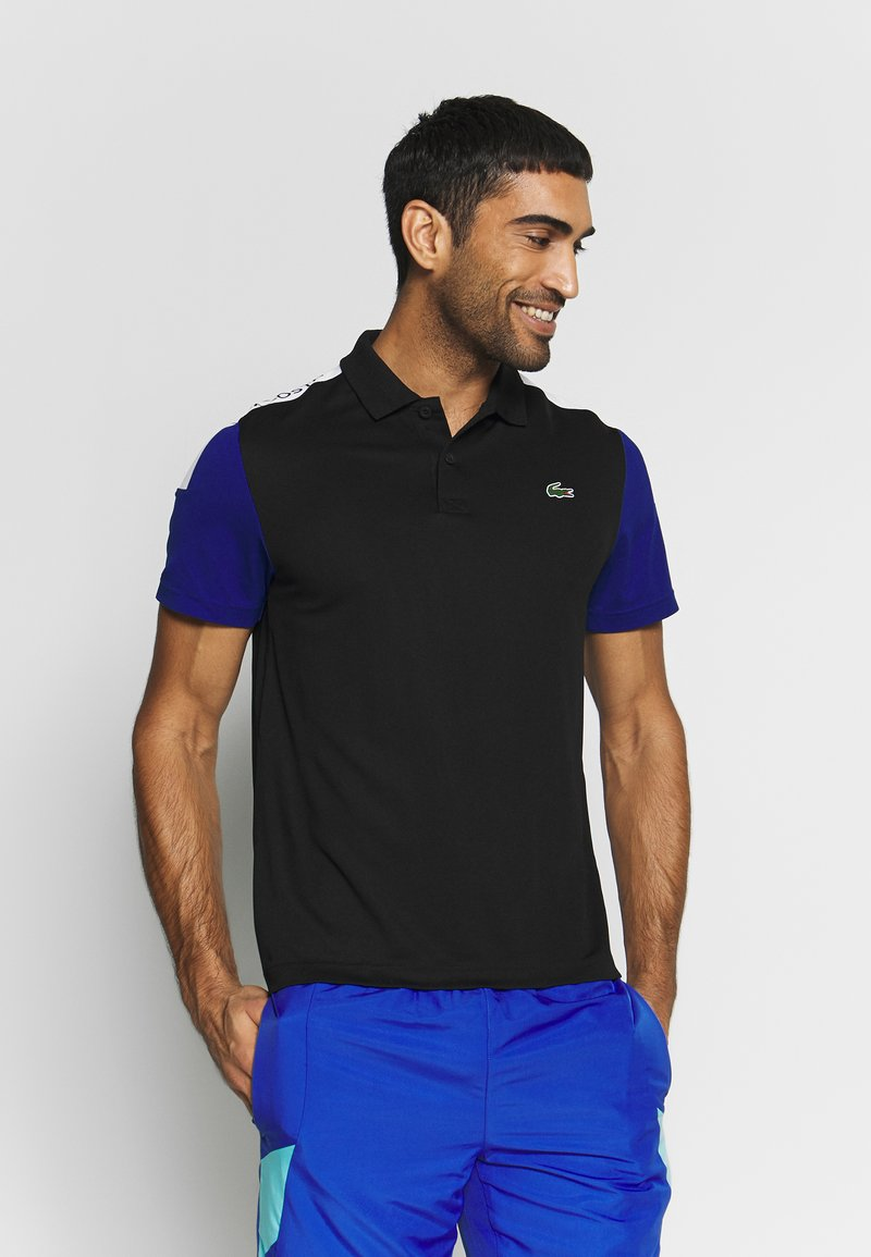 Lacoste Sport - TENNIS - Sports shirt - black/cosmic white