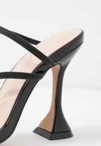 BEBO - CRISTINA - Mules à talons - black - 2