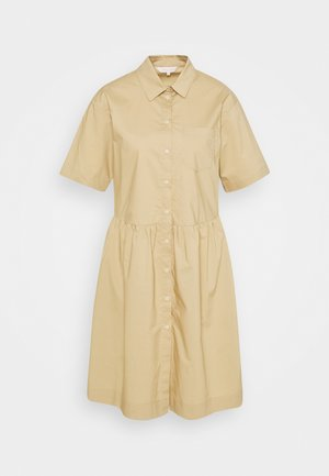 Shirt dress - incense