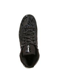 AND1 - XCELERATE MID - Basketball shoes - black/asphalt black - 4