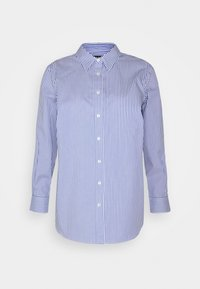 Lauren Ralph Lauren Woman - JAMELKO LONG SLEEVE - Button-down blouse - blue/white - 0
