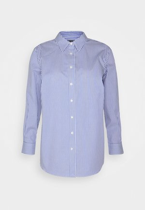 JAMELKO LONG SLEEVE - Button-down blouse - blue/white