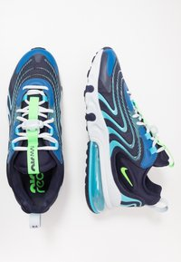 Nike Sportswear - AIR MAX 270 REACT ENG - Sneakers - blackened blue/green strike/pure platinum/team royal/blue fury/aura - 1