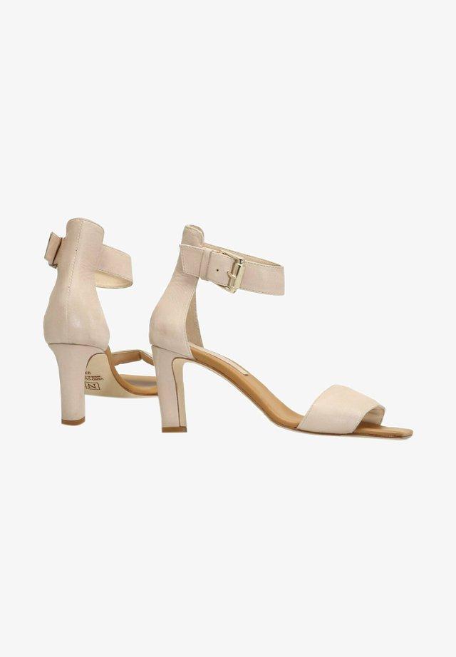 Sandaler med ankelstøtte - softly/beige chiaro