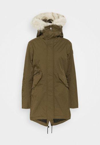 JINNY - Zimní kabát - beech