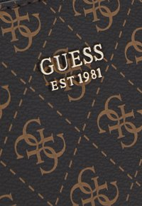Guess - NAYA DOUBLE ZIP CROSSBODY - Skulderveske - black - 4