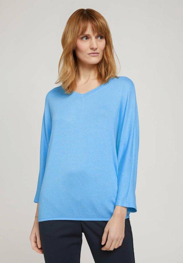 BATWING - Sweter - soft cloud blue melange