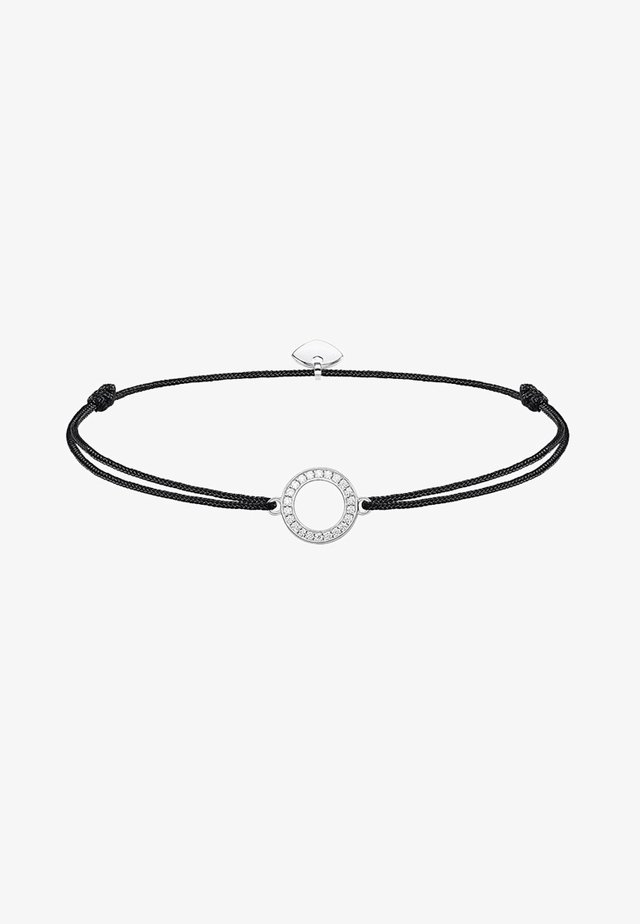 LITTLE SECRET KREIS - Armband - silver-coloured/black