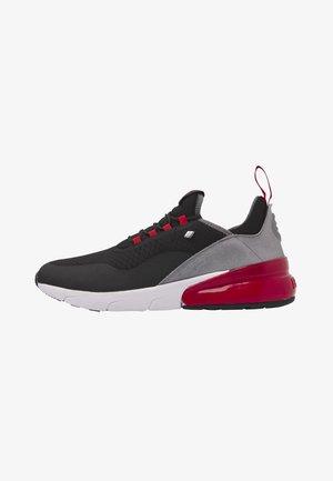 VALEN - Tenisky - black/red/grey