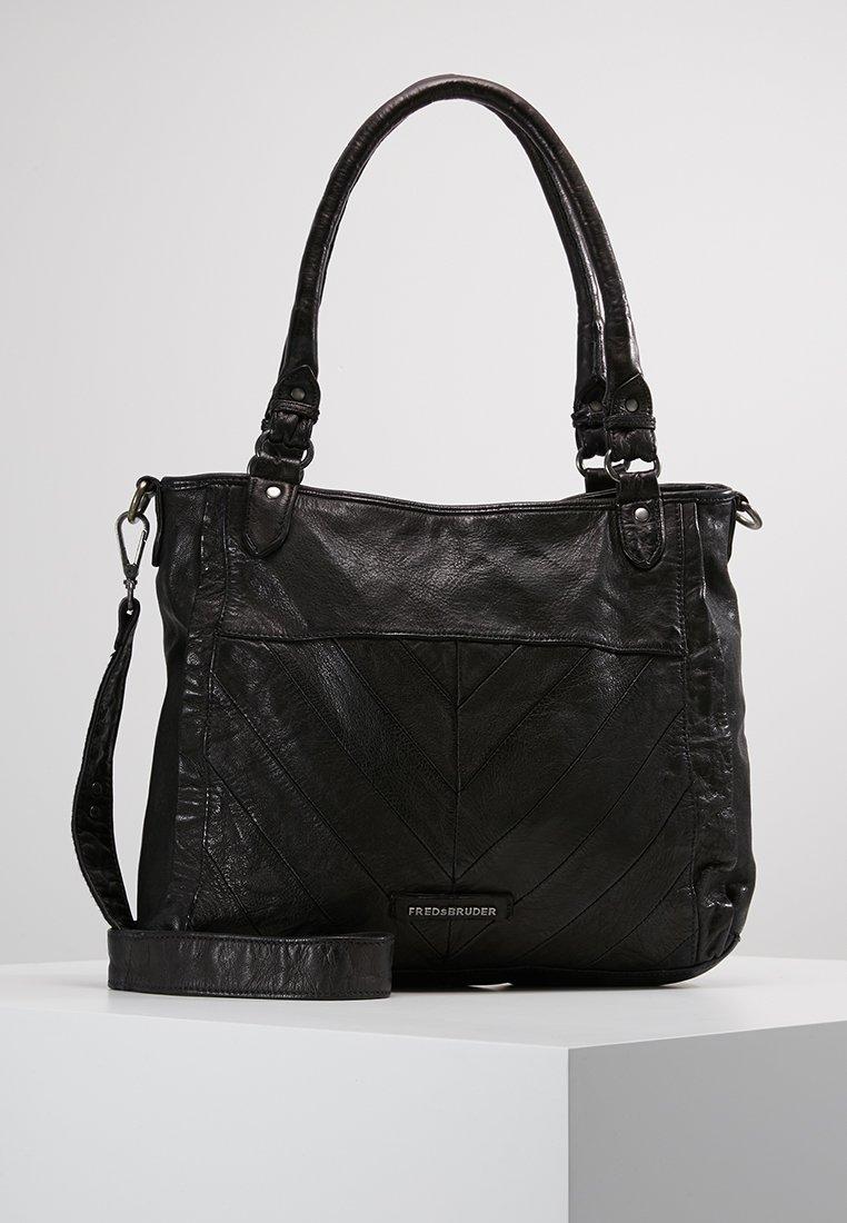 FREDsBRUDER - Handväska - black