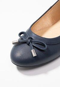 Geox - CHARLENE - Ballet pumps - navy - 2