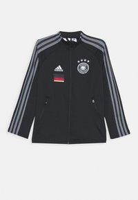 adidas Performance - DEUTSCHLAND DFB ANTHEM JACKET - Training jacket - black - 0