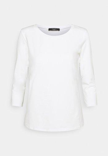 MULTIA - Long sleeved top - weiss