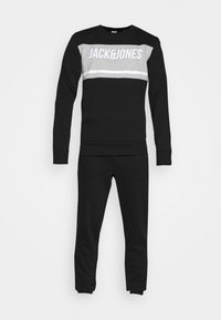 Jack & Jones - JCOBONDS TRACKSUIT SET - Sweatshirt - black - 8