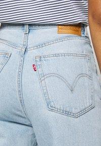 Levi's® - HIGH LOOSE - Flared jeans - light indigo - flat finish - 4