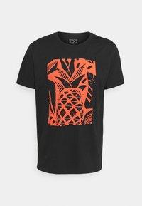 edc by Esprit - Print T-shirt - black - 0