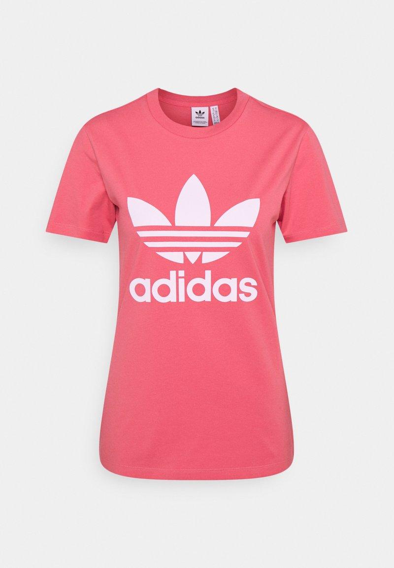 adidas Originals - TREFOIL TEE - Print T-shirt - hazy rose