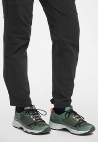 Haglöfs - TRAIL FUSE  - Hiking shoes - dk agave green/true black - 0