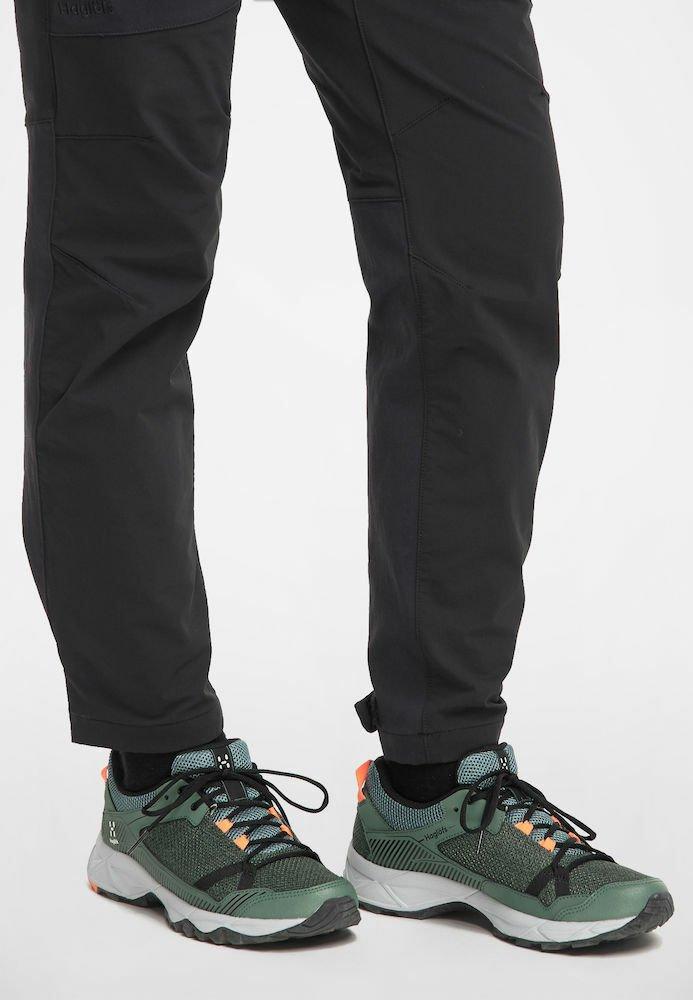 Haglöfs - TRAIL FUSE  - Hiking shoes - dk agave green/true black