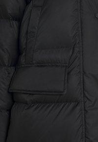 Marc O'Polo - BIG PUFFER COAT FILLED - Dunkappa / -rock - black - 2
