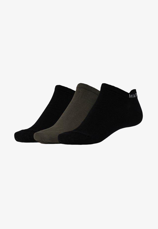 SNEAKER 3 PACK - Ponožky - grün