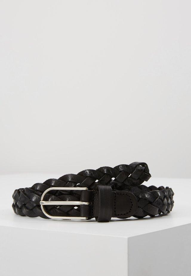 Palmikkovyö - schwarz