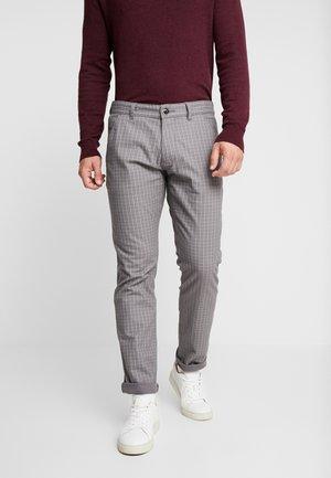 CHECK - Kalhoty - grey