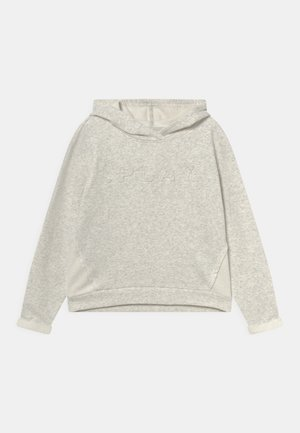 SHAU LIFE HOOD GIRLS - Sweater met rits - white melange