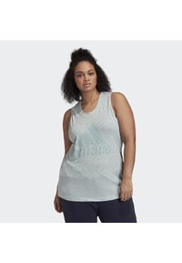 adidas Performance - WINNERS TANK TOP (PLUS SIZE) - Top - green - 0