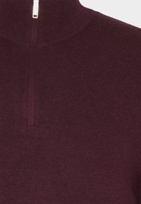 Burton Menswear London - CORE HALF ZIP - Maglione - burgundy - 2