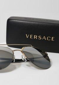 Versace - Sunglasses - gold/light grey/silver - 3