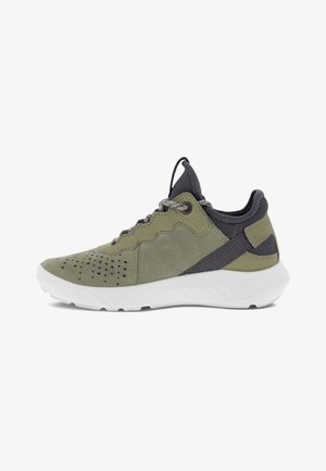 High-top trainers - vetiver/vetiver