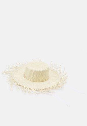 HIPPIE BEACH HAT - Hattu - natural/white