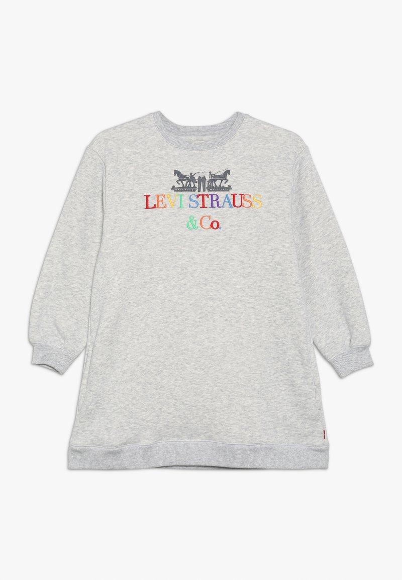 Levi's® - CREW DRESS - Žerzejové šaty - light gray heather