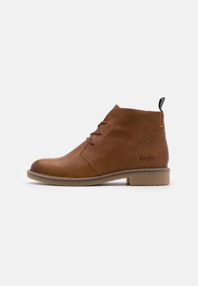 TOMAR - Ankle boots - cognac