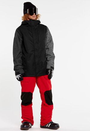 17FORTY - Snowboard jacket - black_check