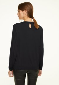 comma casual identity - Long sleeved top - black - 1