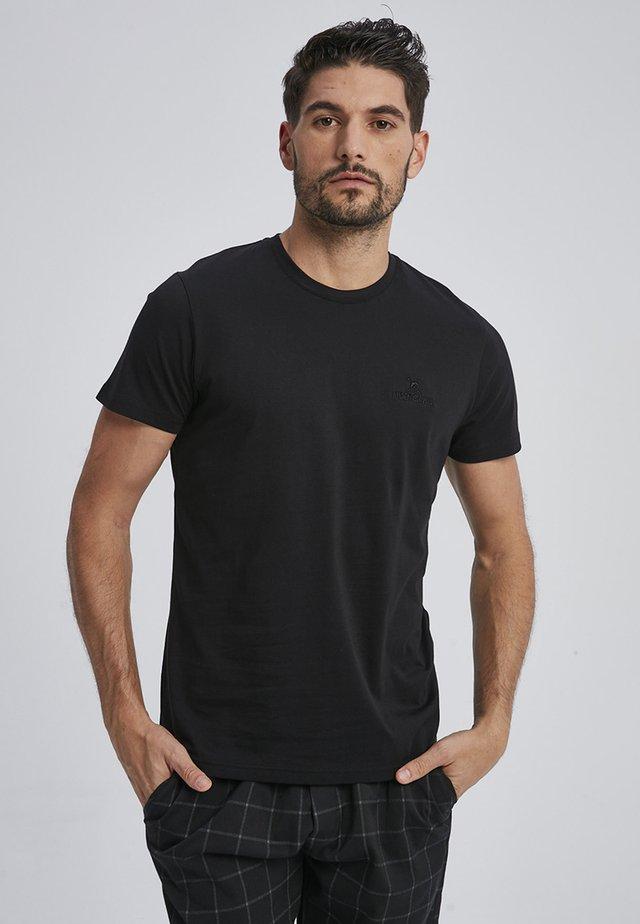 CARLEN - Basic T-shirt - black