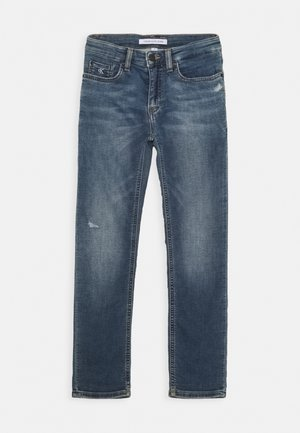 SLIM ATHLETIC - Slim fit jeans - blue