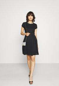 WAL G. - BRIEGE SKATER DRESS - Day dress - black - 1